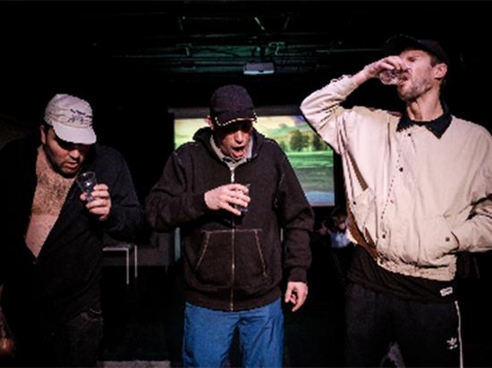 В театре «Практика» показали  «Пограничное состояние»