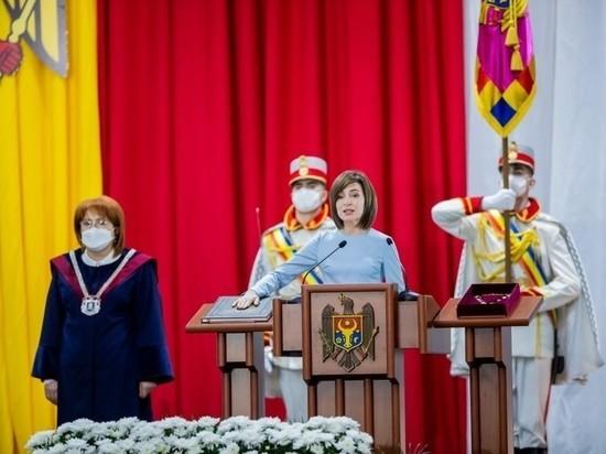 Майя Санду готова к объединению Молдовы и Румынии