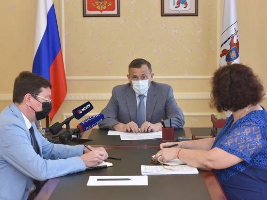 В правительстве Марий Эл обсудили развитие Юринского района