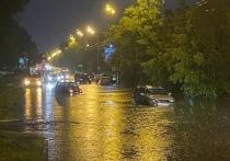 Очередной ливень обрушился на Иркутск вечером 8 июля
