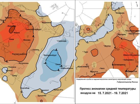 Вильфанд обещает в европейской России «махровую жару», а в Сибири – «мешки холода»