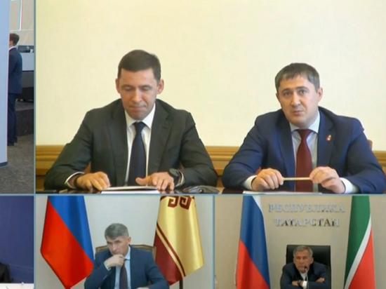 Глава Прикамья попросил президента помочь с реконструкцией дороги Пермь–Уфа