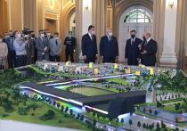 По итогам визита председатель правительства принял решение выделить федеральные деньги на строительство кампуса мирового уровня, детского сада в Северном парке и ремонт дорог