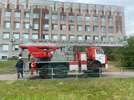 В Архангельске прошли спасательные учения в стоматологической поликлинике
