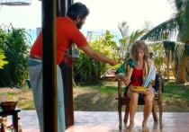 Кристина Асмус получила травму ноги перед съемками на Шри-Ланке