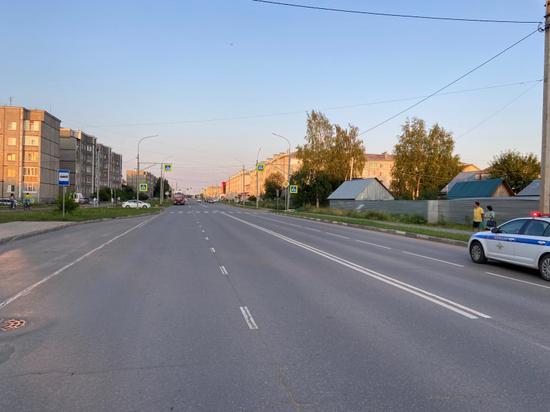 В Котласе нетрезвый водитель сбил пешехода, перебегавшего дорогу в неположенном месте