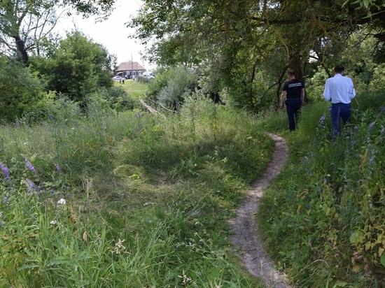 В Фатежском районе Курской области рядом с рекой Усожа убит 31-летний мужчина