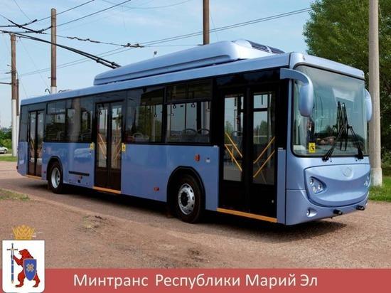 Йошкар-Ола закупит десять новых троллейбусов