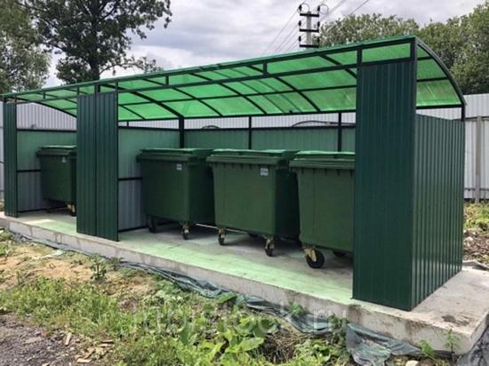 В поселке Первомайский Оренбургского района добились установки мусорной площадки