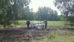 СК опубликовал видео осмотра места убийства полицейского в Барнауле