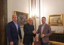 Делегация Кубани встретилась с мэром города Белград Республики Сербия
