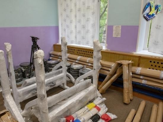 В спортивную школу олимпийского резерва № 4 города Мурманска поступило новое оборудование