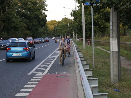Комтранс пообещал обустроить велоинфраструктуру в Петербурге