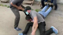 Опубликованы кадры задержания организатора теракта в Москве