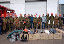 В Иркутской области введены новые меры соцзащиты пожарных-добровольцев