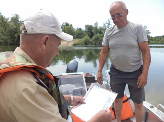 В Курской области проходят комплексные рейдовые проверки на водоемах