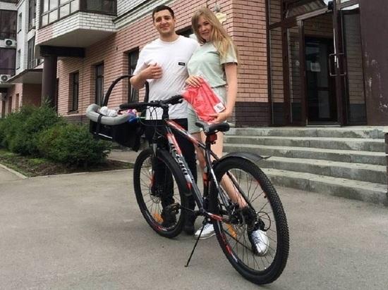 Жительница Барнаула выиграла велосипед от Радио ENERGY
