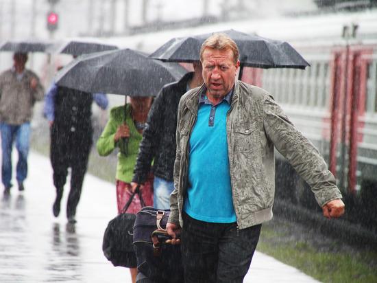 На Москву идут холод, ливни, грозы