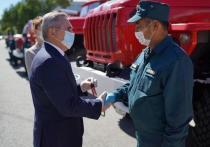 В Тюменскую область поступили новые пожарные автомобили повышенной проходимости