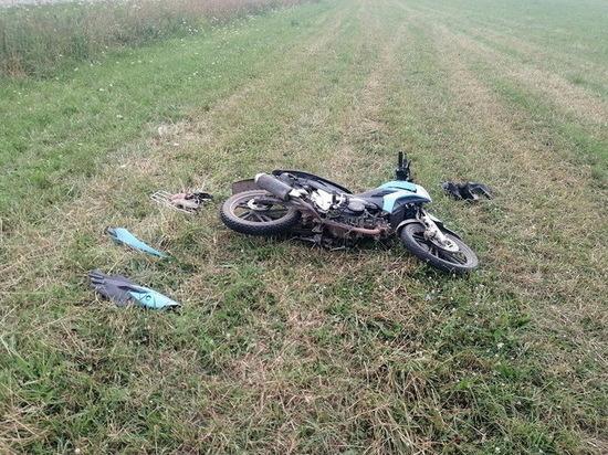 17-летняя девушка ранена при падении мотоцикла в Марий Эл