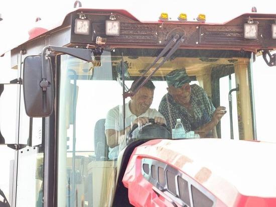 Губернатор Андрей Воробьев проверил, как вводят в оборот сельхозземли