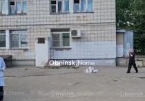В Обнинске из окна больницы снова выпал человек