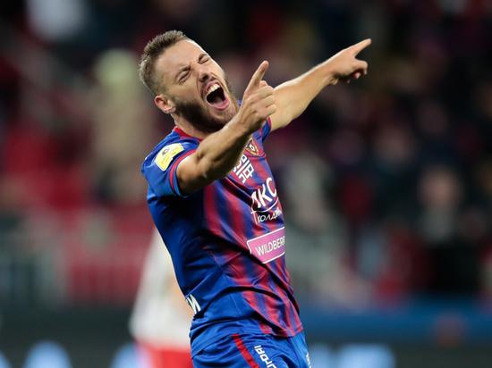Влашич прибыл в расположение ЦСКА после Евро-2020