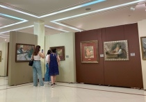 Экспозиция включает 41 произведение.
