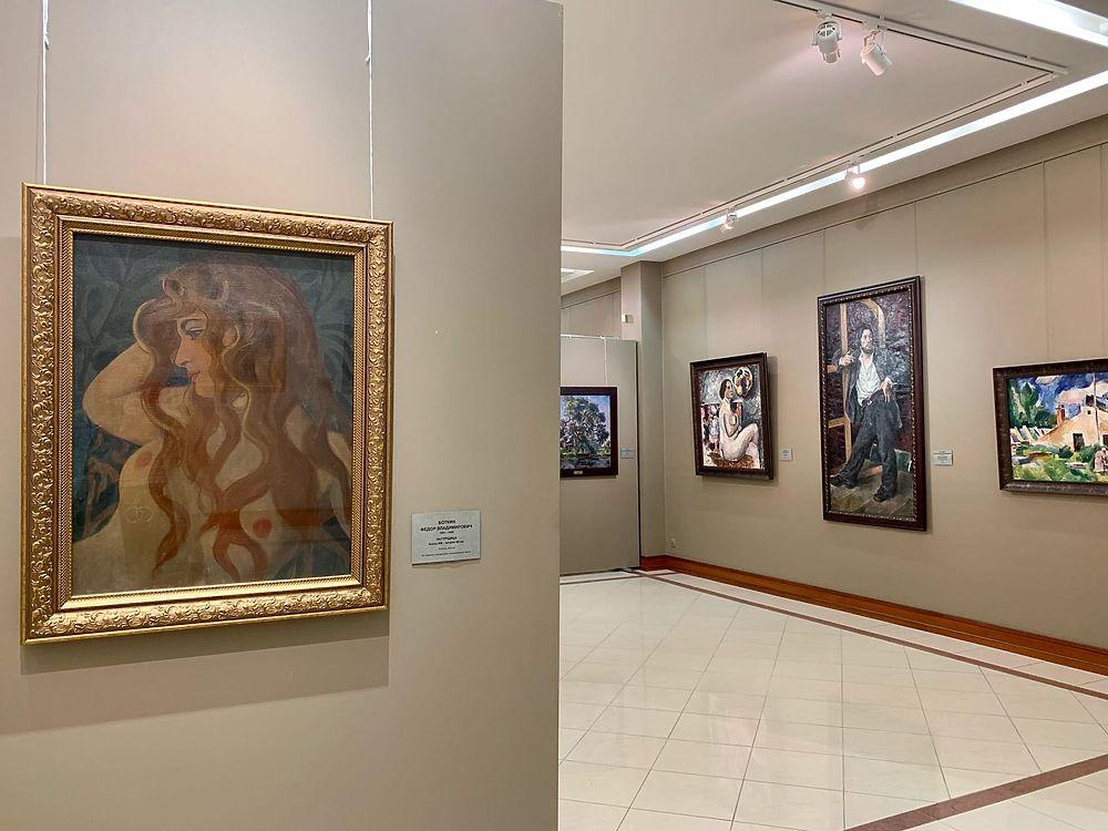 Более 40 произведений увидят белгородцы на выставке картин Серебряного века
