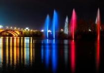 В центре Красноярска вновь забьет речной фонтан