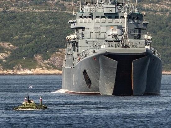 Морские пехотинцы Северного флота провели первую тренировку