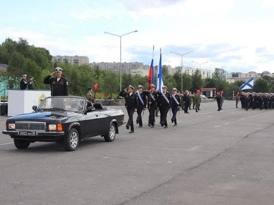 Более двух тысяч военнослужащих Северного флота готовятся к параду