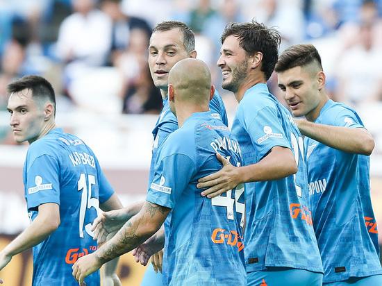 «Зенит» начал сезон в РПЛ с победы, выиграв Суперкубок