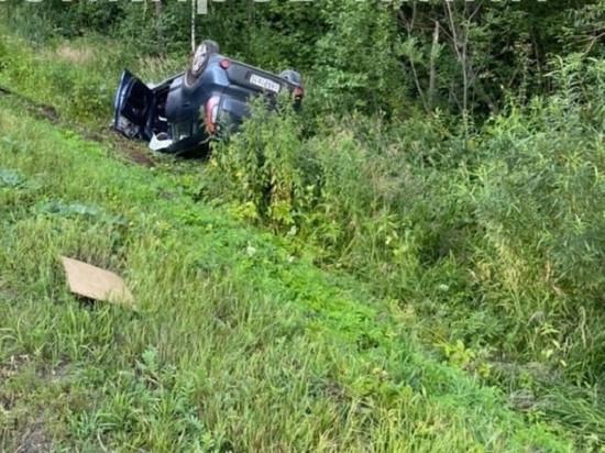 В Кировской области в лоб столкнулись фура и «Киа»: погиб водитель