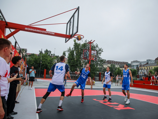 Во Владивостоке открылась первая площадка для баскетбола 3х3