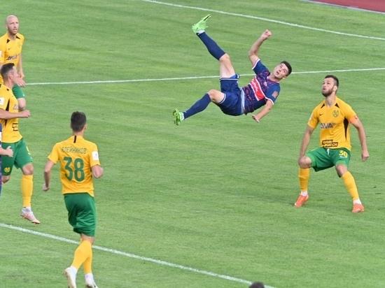 Футбольный «Енисей» сыграл вничью с «Кубанью» в домашнем матче в Красноярске