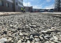 Дороги приводят в порядок в отдаленном районе Нового Уренгоя