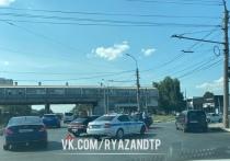 18 июля в Рязани произошла авария напротив Центрального автовокзала
