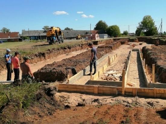 В Марий Эл начали строительство школы на 60 мест в деревне Сардаял