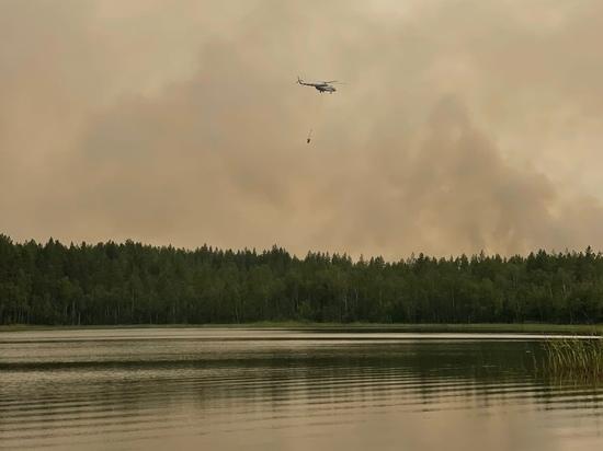В Найстенъярви эвакуируют жителей из-за подступающего огня