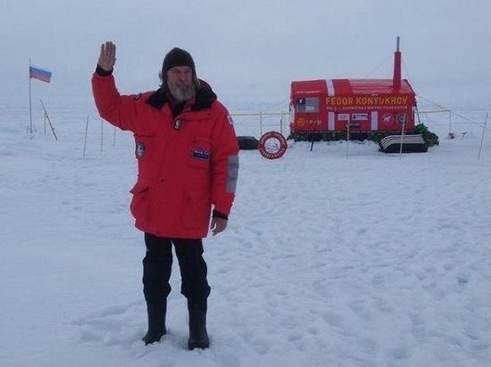 Спасательный круг с «Адмирала Харламова» стал талисманом Федора Конюхова в Арктике