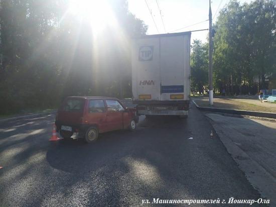 Два безответственных водителя спровоцировали ДТП в Йошкар-Оле
