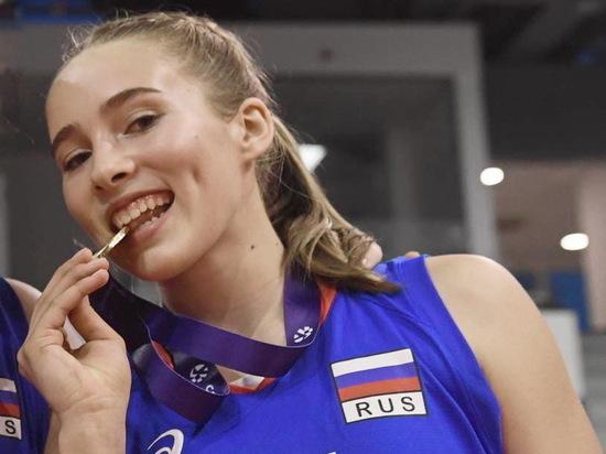 Волейболистка из Хакасии помогла сборной России выиграть первенство Европы
