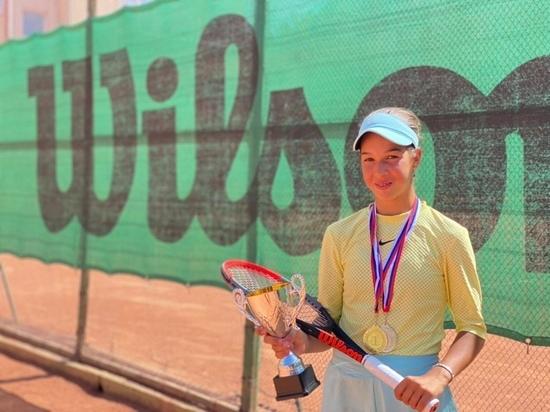 Теннисистка из Обнинска победила на республиканских соревнованиях в Крыму