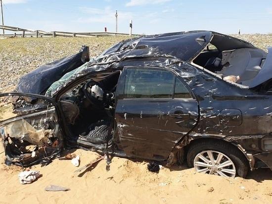 На дороге в Калмыкии погиб житель Астраханской области