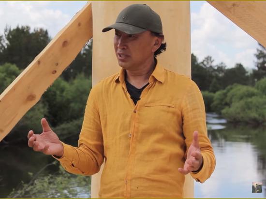 Бурятский скульптор Даши Намдаков строит арт-парк для туристов