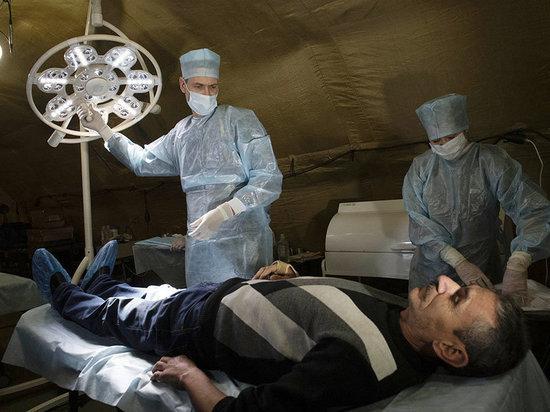 Военный ковид-госпиталь развернули в Черногорском центре имени Лебедя