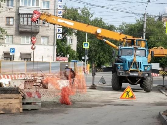 Две улицы перекроют в Барнауле из-за ремонтных работ