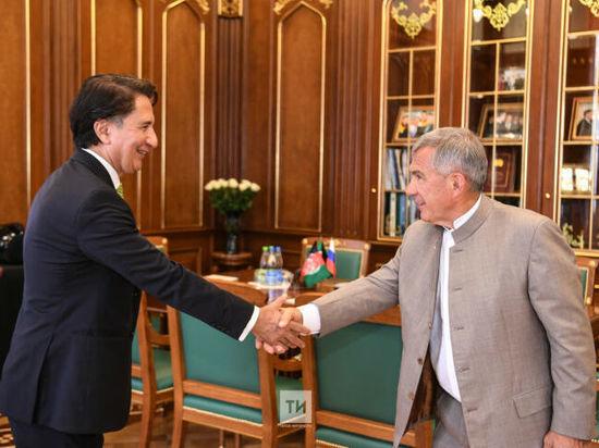 Президент Татарстана и посол Афганистана обсудили торгово-экономическое сотрудничество