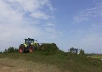 Свыше 183 тысяч тонн кормов для скота заготовили в Псковской области